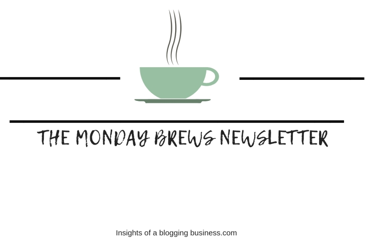THE MONDAY BREWS NEWSLETTER